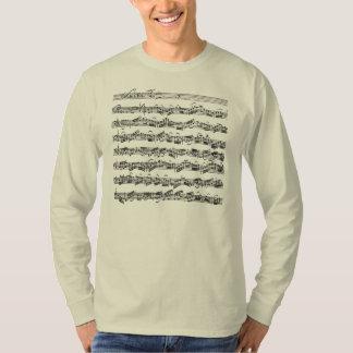Bach Cello Suite Music Manuscript T Shirt