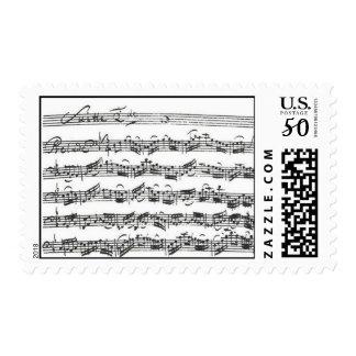 Bach Cello Suite Postage