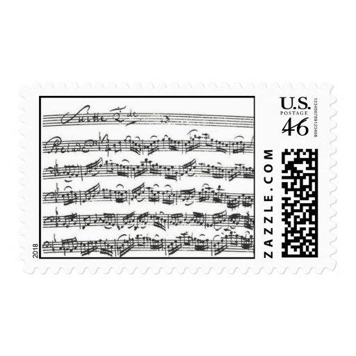 Bach Cello Suite Stamps