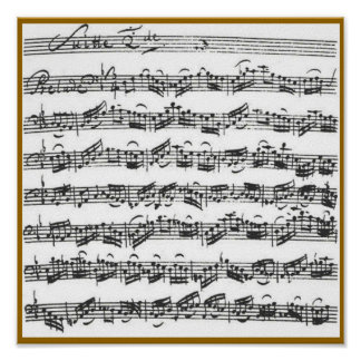 Bach Cello Suite Posters