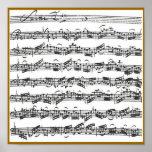Bach Cello Suite Posters