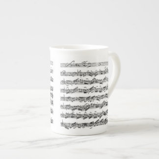 Bach Cello Suite Tea Cup