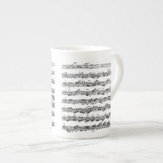 Bach Cello Suite Tea Cup