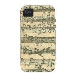 Bach Chaconne iPhone 4/4S Carcasa