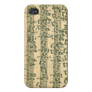 Bach Chaconne iPhone 4 case