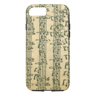 Bach Chaconne Manuscript for Solo Violin iPhone 8/7 Case
