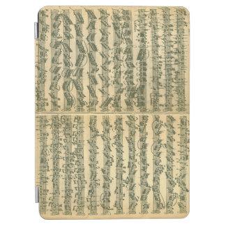 Bach Chaconne Music Manuscript iPad Air Cover