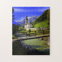 Bach Church Germany. Jigsaw Puzzle