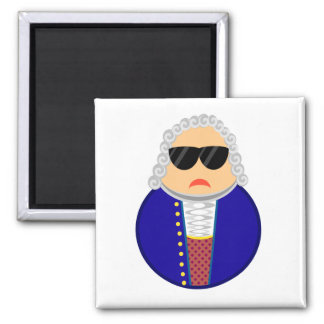 Bach Classical Music Composer Funny Gift Fridge Magnets