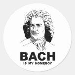 Bach es mi Homeboy Etiqueta