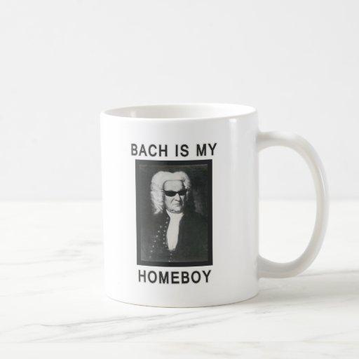 Bach es mi Homeboy Taza Básica Blanca