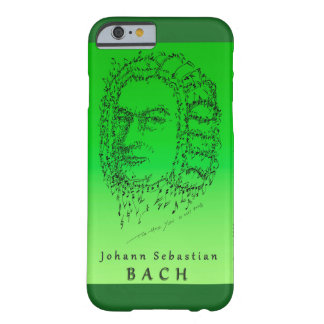 Bach Face the Music Barely There iPhone 6 Case