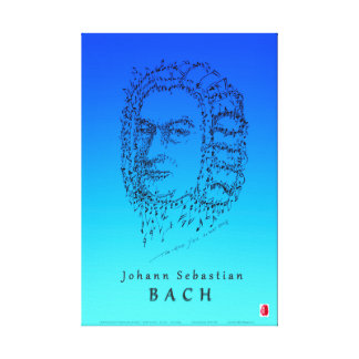 Bach: Face the Music Canvas Print
