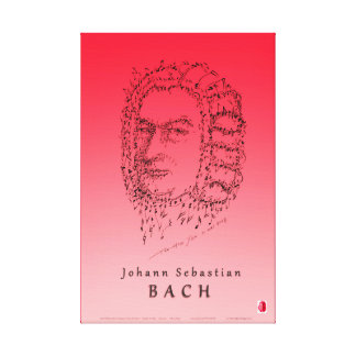 Bach Face the Music Canvas Print