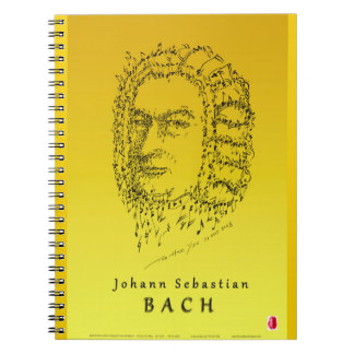 Bach: Face the Music Notebook