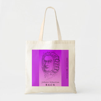 Bach Face the Music Tote Bag