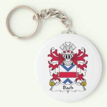 Bach Family Crest Keychain