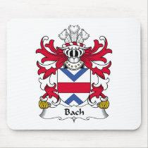 Bach Family Crest Mousepad