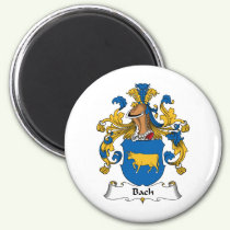 Bach Family Crest Magnet