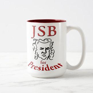 Bach for President mug