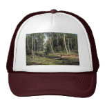 Bach In The Birch Forest By Schischkin Iwan Iwanow Hats