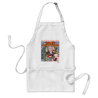 Bach in the Kitchen Adult Apron