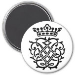 Bach Insignia 3 Inch Round Magnet