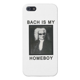 Bach is my Homeboy iPhone SE/5/5s Case