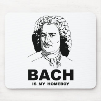 Bach is My Homeboy Mouse Pad