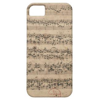 Bach Manuscript iPhone 5 Cases