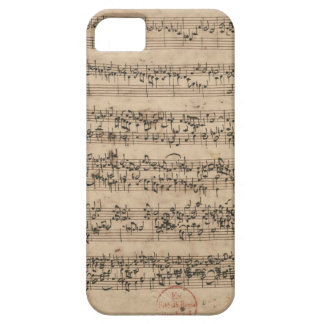 Bach Manuscript iPhone SE/5/5s Case