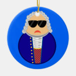 Bach Music Composer Classical Musician Gift Christmas Tree Ornaments