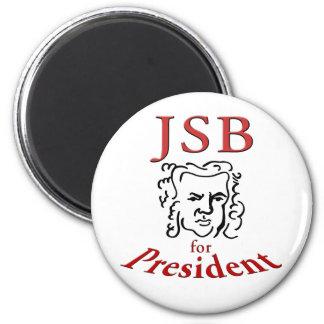 Bach para el presidente imán redondo 5 cm