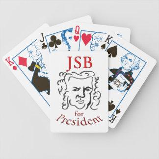 Bach para los naipes del presidente (JSB) Barajas