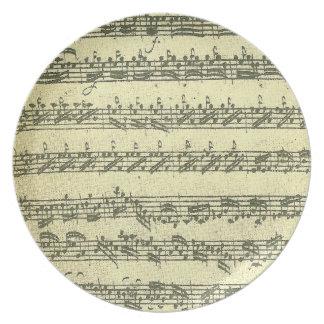 Bach Partita Platos