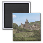 Bacharach, Alemania, castillo de Stahleck, Schloss Imán Cuadrado