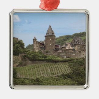Bacharach, Germany, Stahleck Castle, Schloss Metal Ornament