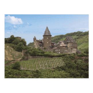 Bacharach, Germany, Stahleck Castle, Schloss Postcard
