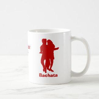 Bachata Bachata Dancers Silhouette Custom Coffee Mug