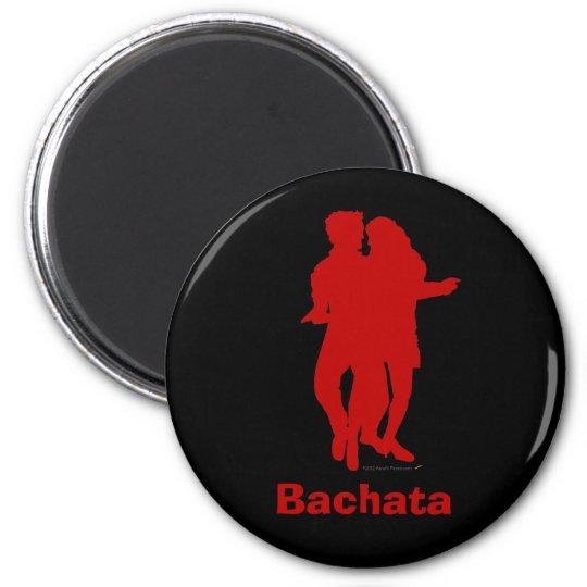 Bachata Bachata Dancers Silhouette Custom Magnet