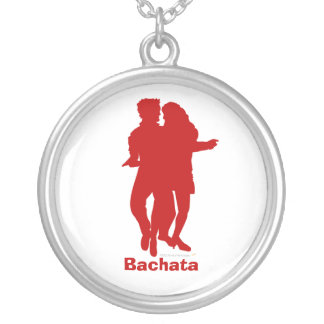 Bachata Bachata Dancers Silhouette Custom Custom Jewelry
