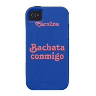 Bachata Conmigo Latin Dance Custom iphone 4 Case