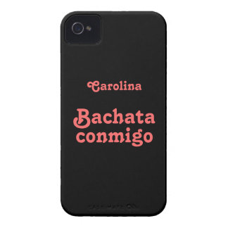 Bachata Conmigo Latin Dance Custom Name iphone 4g iPhone 4 Case