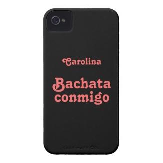 Bachata Conmigo Latin Dance Custom Name iphone 4g