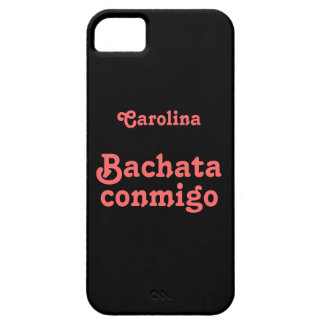 Bachata Conmigo Latin Dance Custom Name iphone 5g iPhone 5 Covers