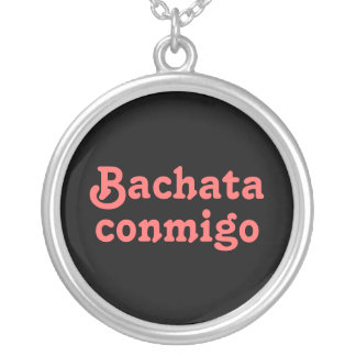 Bachata Conmigo Latin Salsa Dancing Necklace