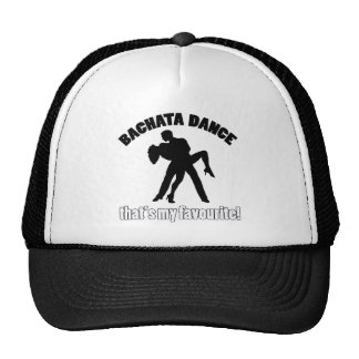 Bachata dance designs trucker hat