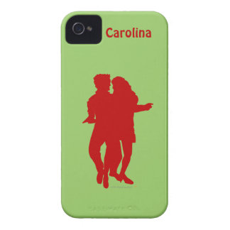 Bachata Dancers Personalized iphone 4g Cover