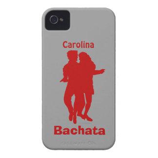 Bachata Dancing Couple Custom Name Blackberry Case