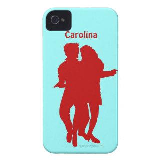 Bachata Dancing Couple Custom Name iphone 4g Cover